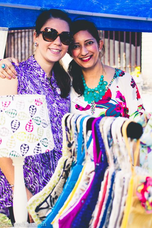 The lovely ladies of Sunisha Designs